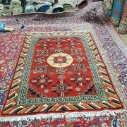 Wow! Old Khotan Chachma Carpet